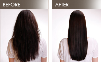 Japanese Hair Straightening Or Brazilian Blowout Triple