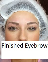 Finished eyebrow